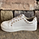 Thumbnail: Rossi White Sneaker with Gold Detail