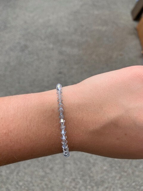 Blue Shade Swarovski Crystal Bracelet