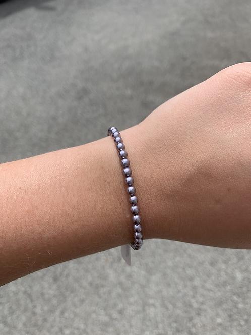 Mauve Pearl Swarovski Bracelet