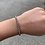 Thumbnail: Grey Pearl Swarovski Crystal Bracelet