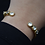 Thumbnail: VSA Lullaby 3 Stone Either Side Cuff
