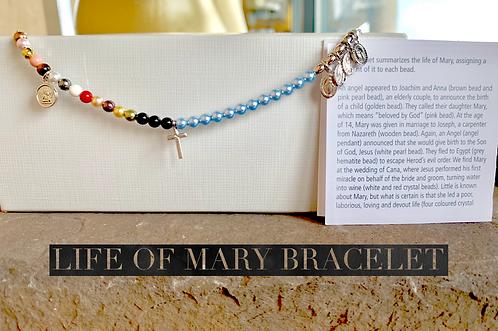 Life of Mary Bracelet (Adjustable Extender)