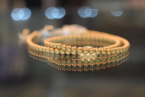 """13-18"""" Bright Gold Pearl Choker/Necklace"""