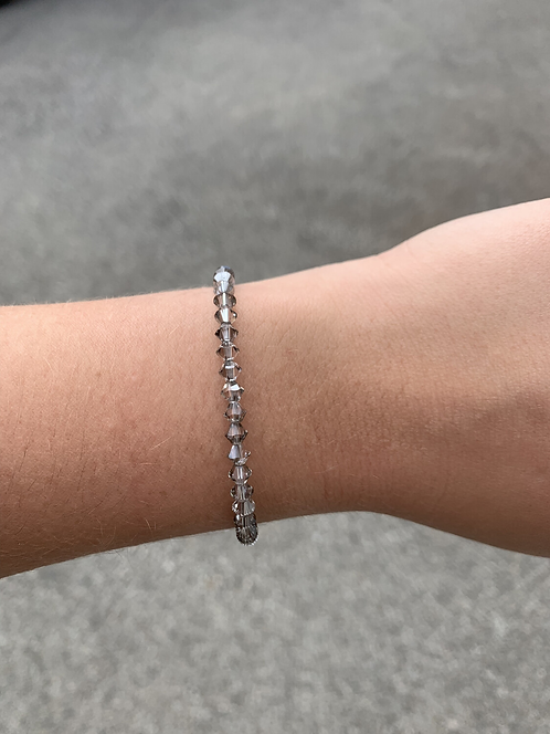 Crystal Satin Swarovski Crystal Bracelet