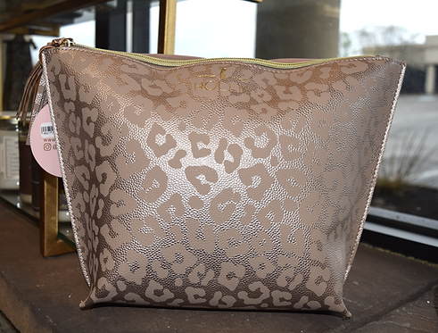 Rose gold Couture Make Up Travel Bag