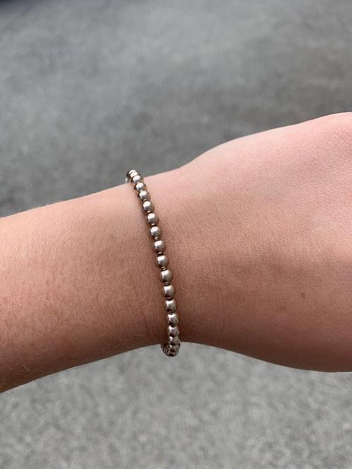 Bronze Pearl Swarovski Bracelet