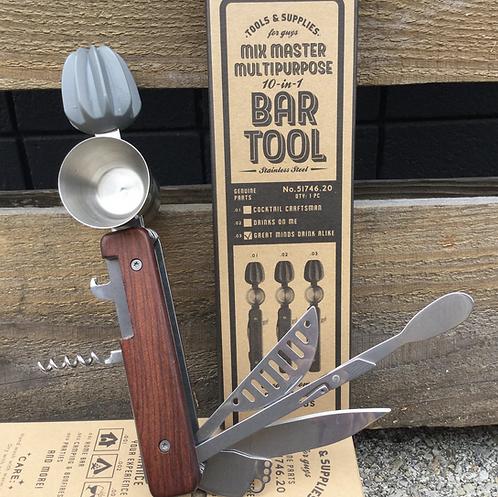 Mix Master Multipurpose 10 in 1 Bar Tool