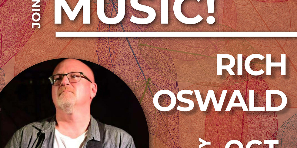 Live Music by Rich Oswald