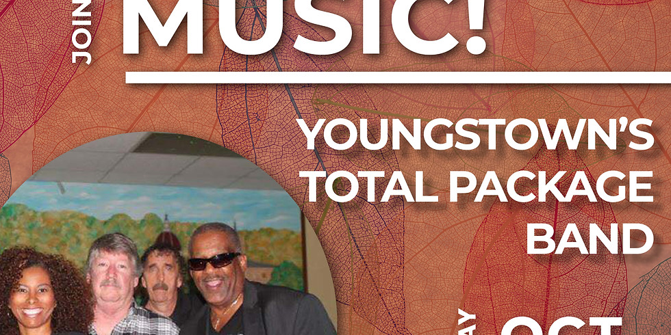 Live Music by Youngstown's Total Package Band