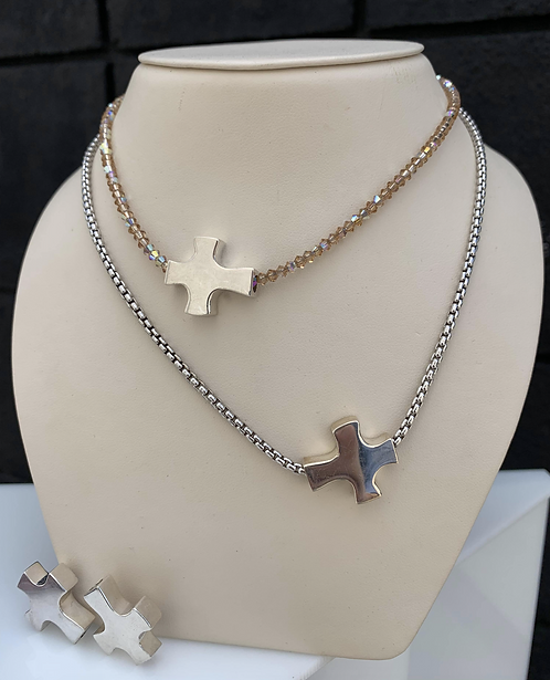 Caleena Cross sterling silver (cross only)