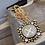 "Thumbnail: VSA 32"" Gold Tone Ball Chain w/ San Benito Cloister Necklace"