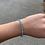 Thumbnail: Light Turquoise (December Birthstone) Swarovski Crystal Bracelet