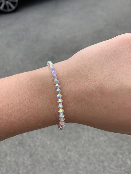 ABx2 Swarovski Crystal Bracelet