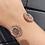 Thumbnail: Luna Rose Gold Tone Cuff w Clear Crystals