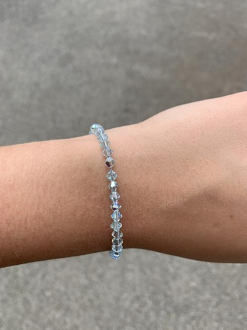 Light Azore Swarovski Crystal Bracelet