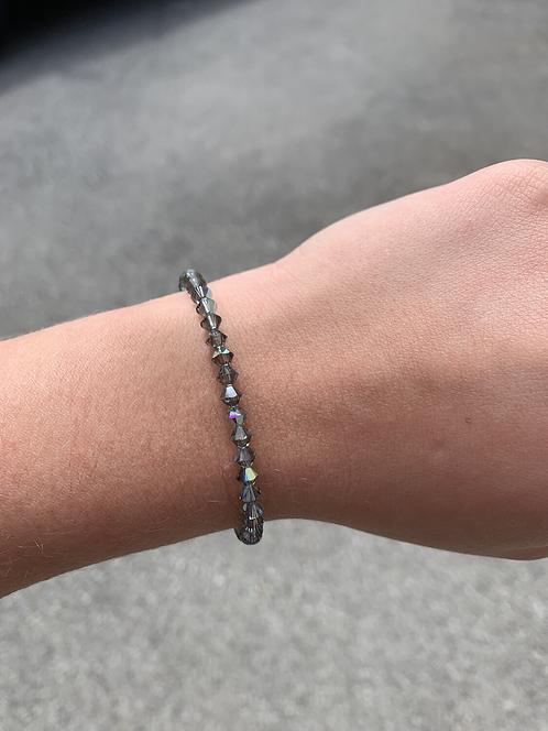 Black Diamond Swarovski Crystal Bracelet