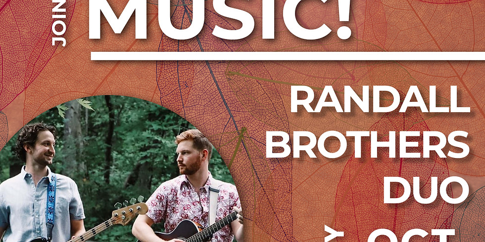 Live Music by Randall Brothers Duo