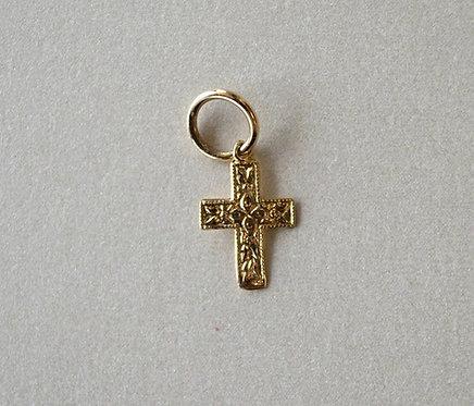 14k Ornate Cross