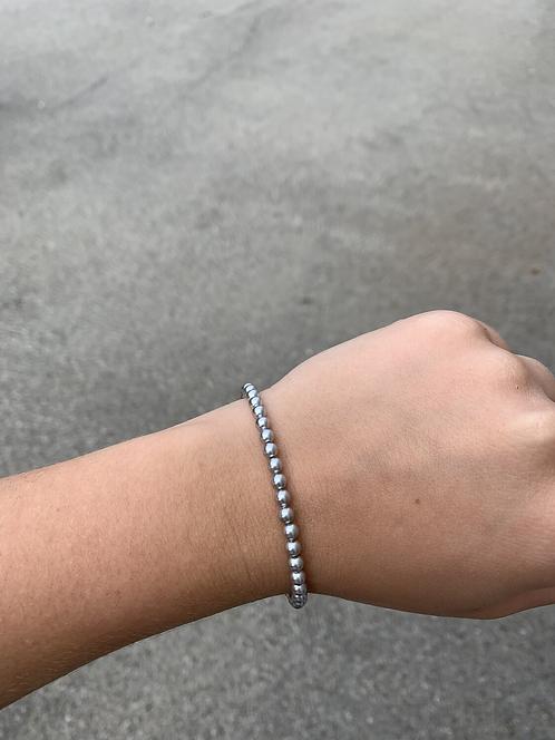 Light Grey Swarovski Crystal Bracelet