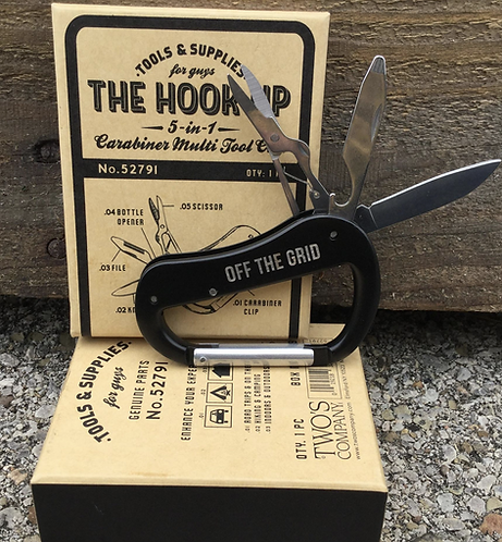 The Hook Up 5 in 1 Multi Tool Clip