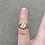 Thumbnail: Size 2.75 Baby Ring in 10K Yellow Gold with 4 CZ 1.8g