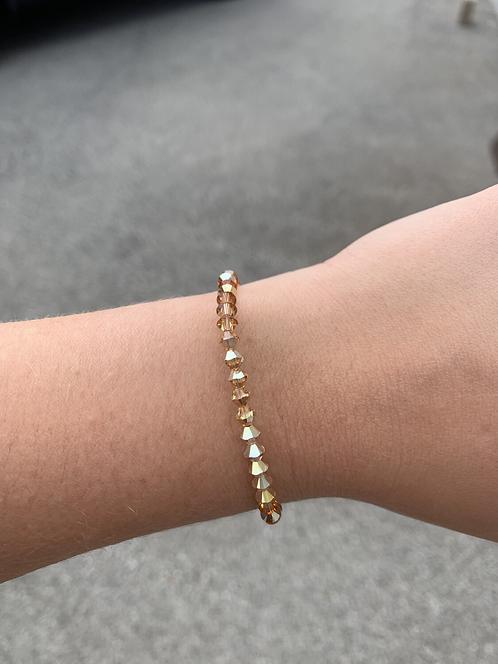 Metallic Sunshine Swarovski Crystal Bracelet