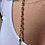 Thumbnail: VSA Gold Rosary Cross Necklace in Jewel Tone Ombre w/ Silver Night Crystals