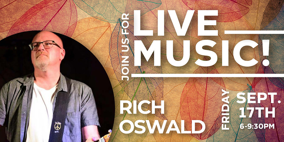 Live Music from Rich Oswald