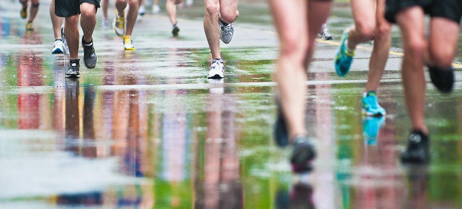 L'esecuzione della corsa o Marathon