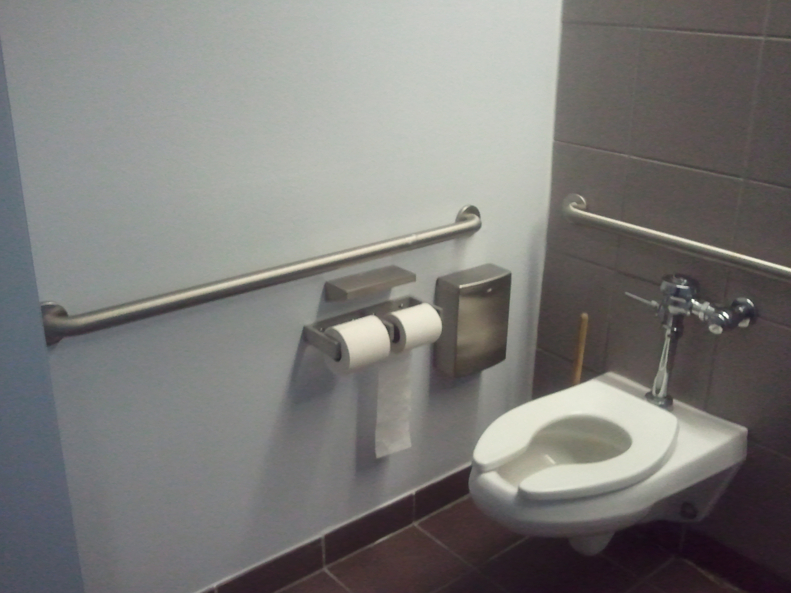 Restroom Wall Install