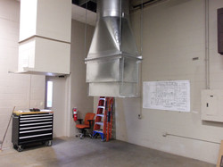 Completed Exhaust Flue