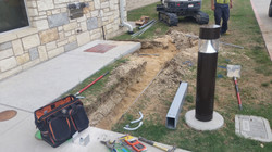 Trenching for ADA Controller
