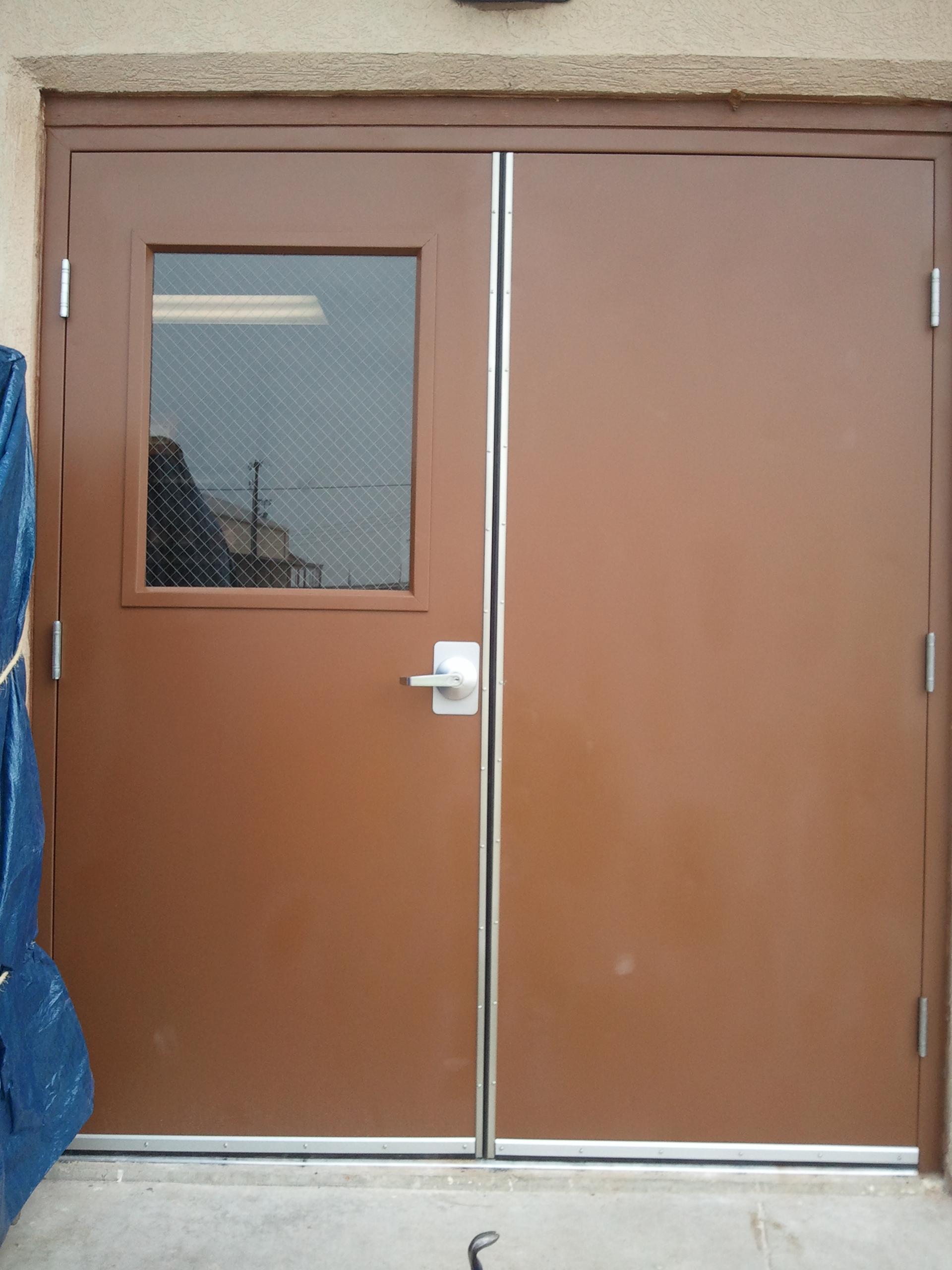 Refresh Entry Door