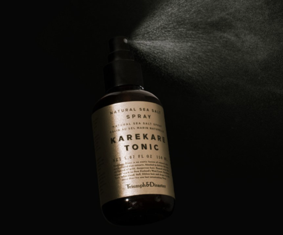 INTRODUCING KAREKARE HAIR TONIC BY TRIUMPH & DISASTER