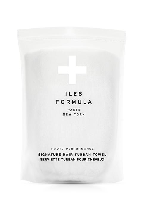ILES FORMULA HAIR TURBAN TOWEL (WHITE)