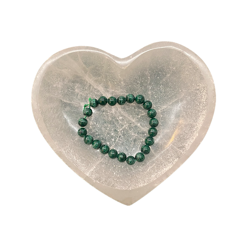 Malachite Bracelet Elastic 8mm Beads