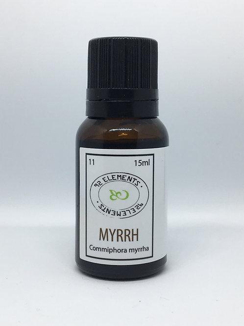 Myrrh essential oil (Commiphora myrrha)