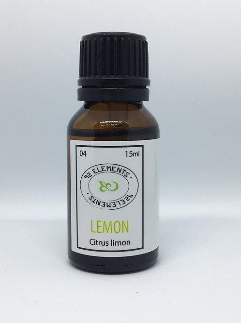 Aceite Esencial de Limón amarillo (Citrus limon) 15ml