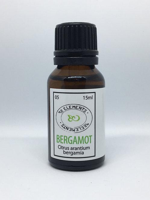 Aceite esencial de bergamota (Citrus arantium bergamia)