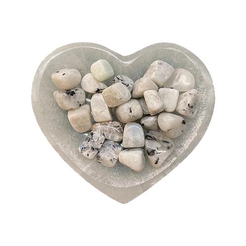 Mooonstone Tumbled One Stone