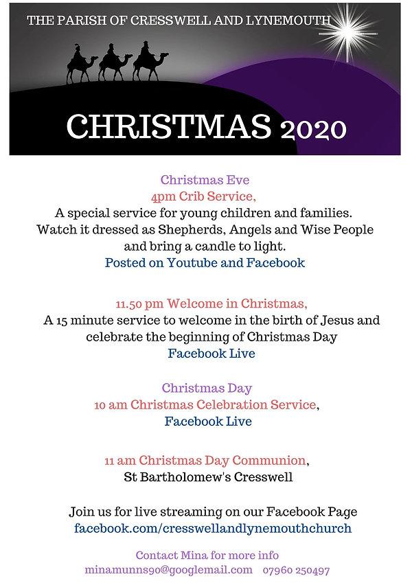 Christmas Eve 4pm Crib service, St Barth