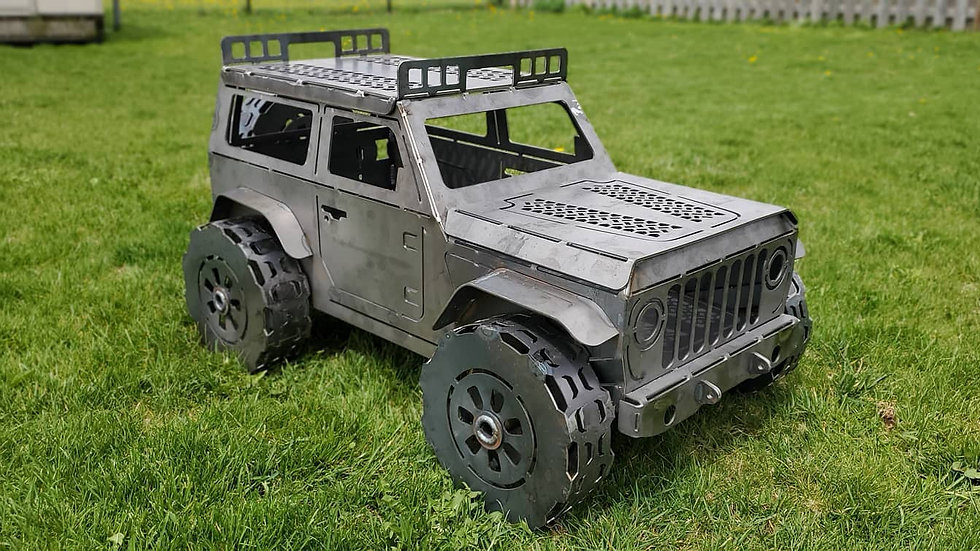 2-Door Jeep  Fire Pit