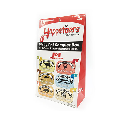Yappetizers Sampler Box