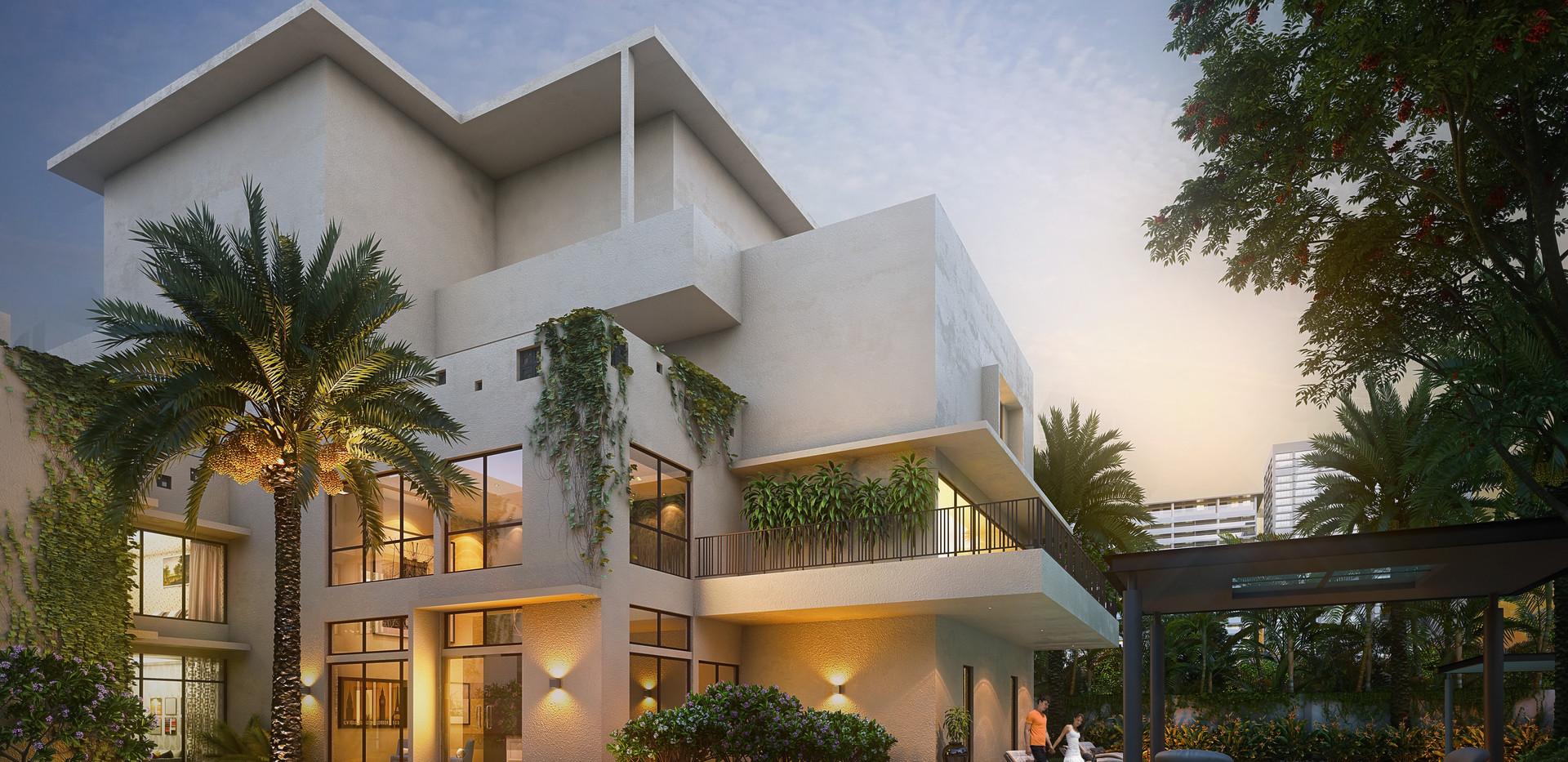Uraban Serenity club house elevation.jpg