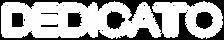 Logo Dedicatto branco fundo transparente