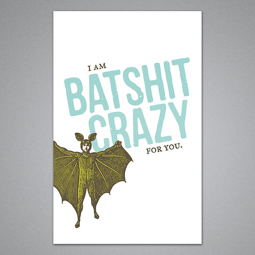 Breathless Paper Co. - Batshit Crazy