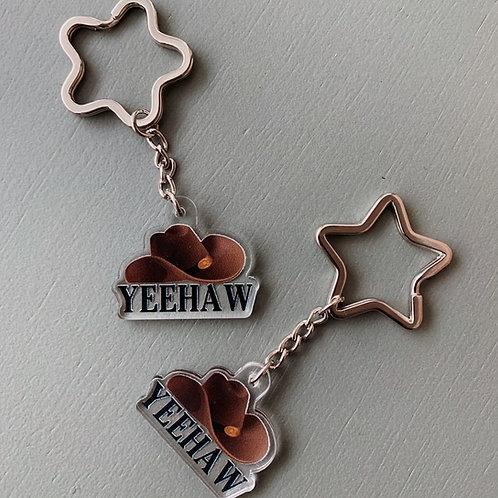 LoveNanaCo - Yeehaw Cowboy Hat Keychain