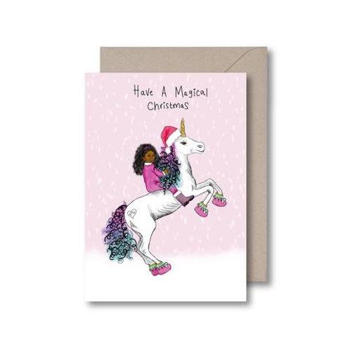 Kitsch Noir - Have A Magical Christmas Card