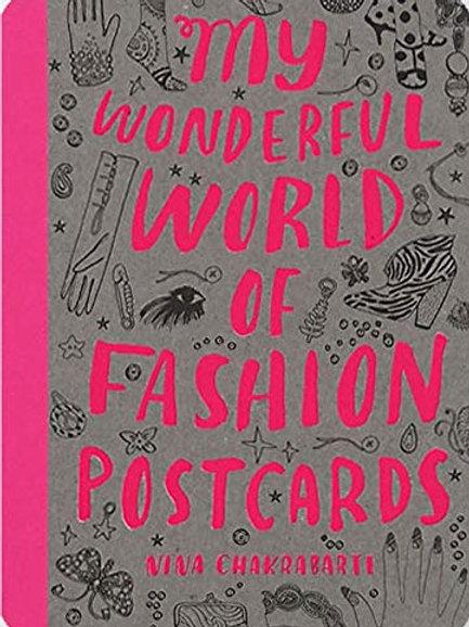 Laurence King - My Wonderful World of Fashion Postcards