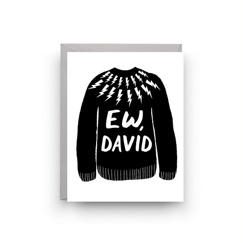 Nicole Marie Paperie - Ew, David Card